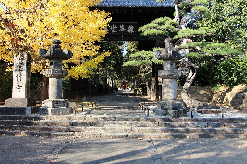 Entrance Gate of Erinji Temple