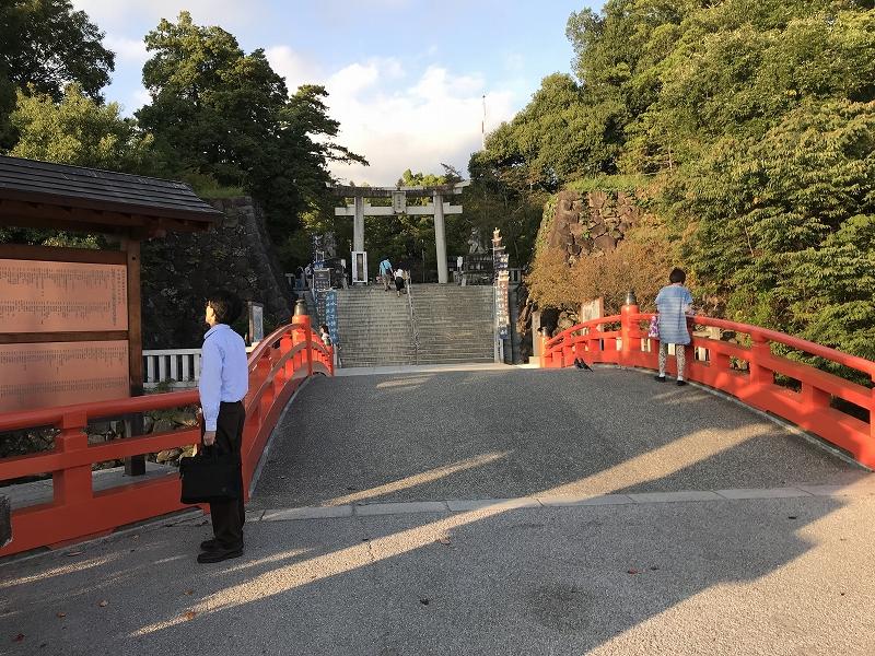 Takeda shrine approach