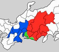 Takeda singen territory